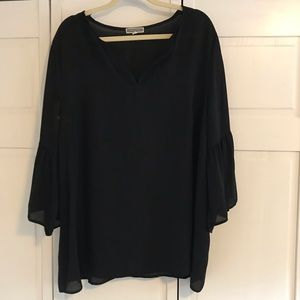 Plus Size Chiffon Top - GUC